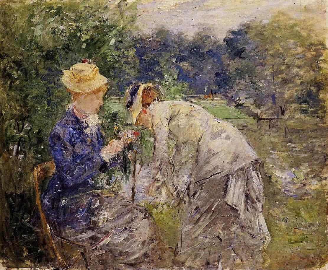 """Al Bois de Boulogne"" di Berthe Morisot"